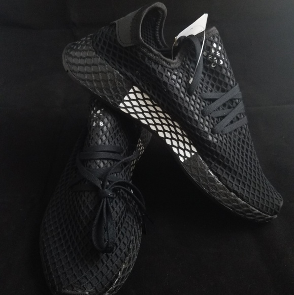 Adidas Deerupt All Black Wbox | Poshmark
